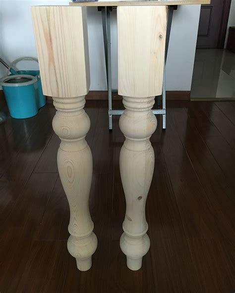 Spindle Table Legs 36 Inches