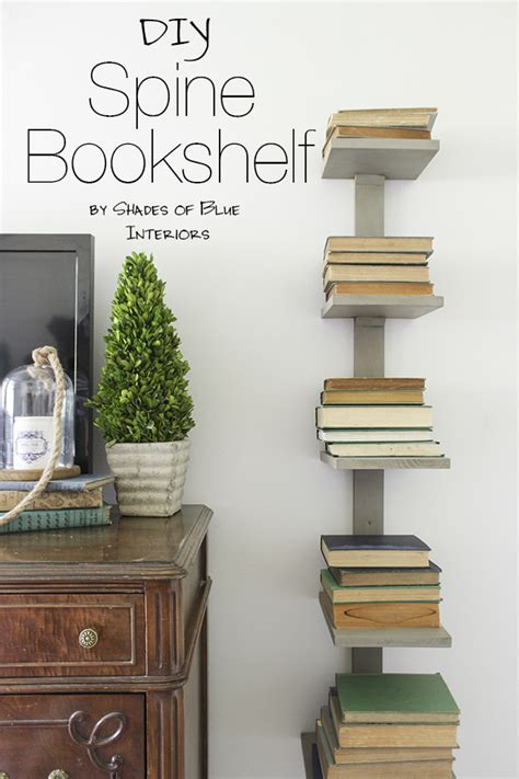 Spine Wall Shelf Diy Plans