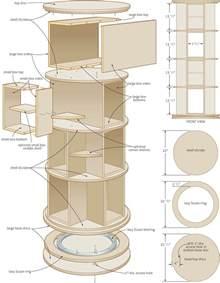 Spinning-Shoe-Rack-Plans