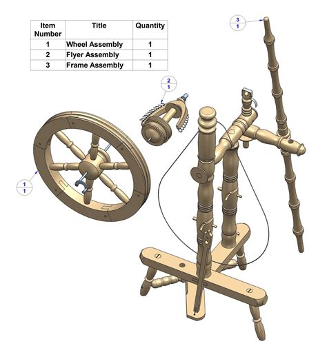 Spinning-Wheel-Wood-Plans