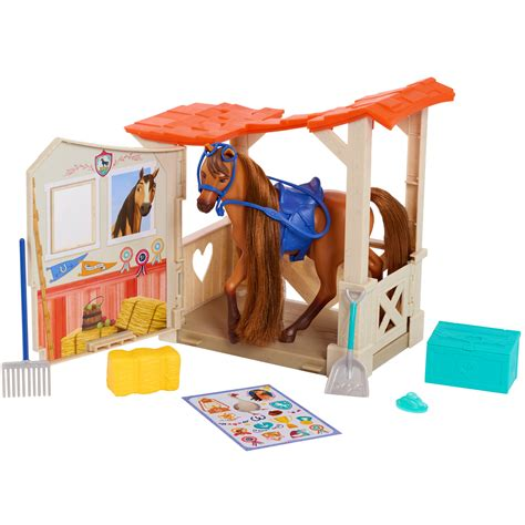 Spirit Horse Toy Stable