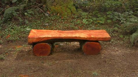 Split Log Bench Designs