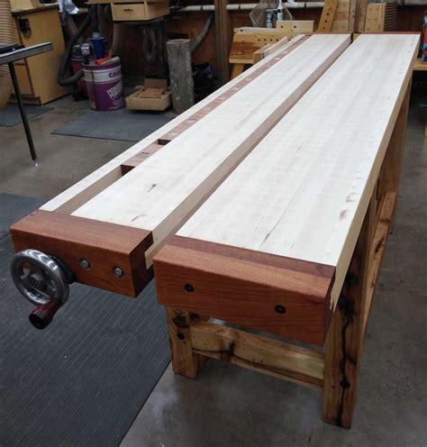 Split-Top-Woodworking-Bench