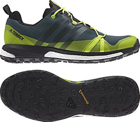 Sport Performance Men's Terrex Agravic Athletic Sneakers, Green, Textile, Rubber, 9.5 M