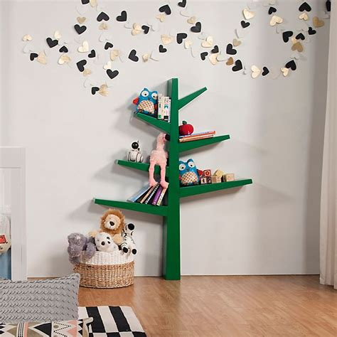 Spruce-Tree-Bookcase-Plans