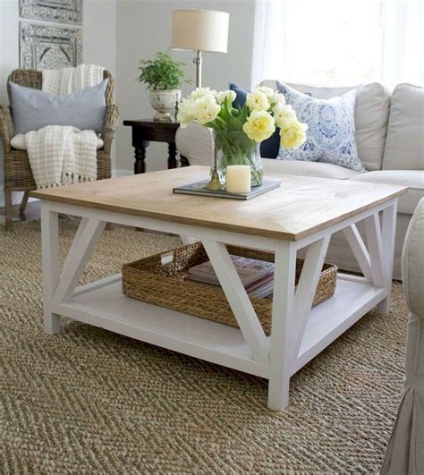 Square Farmhouse Coffee Table Plans
