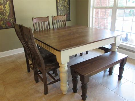Square Kitchen Table Plans