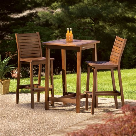 Square-Bar-Table-And-Chairs-Plans
