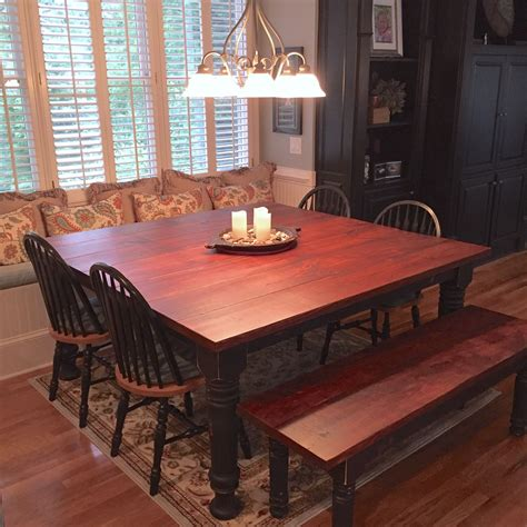 Square-Farmhouse-Dining-Room-Table