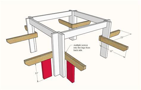 Square-Picnic-Table-Plans-Download