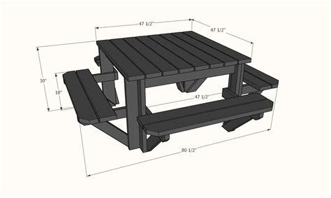 Square-Picnic-Table-Plans-Pdf