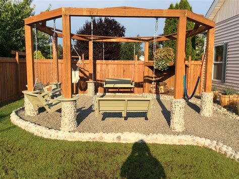 Square-Porch-Swing-Fire-Pit-Plans