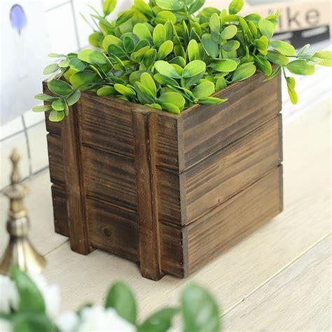 Square-Wooden-Planter-Box-Diy