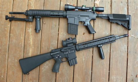 Sr25 A K And Knight Arms Sr25