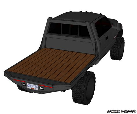 Srw-Short-Bed-Flatbed-Plans