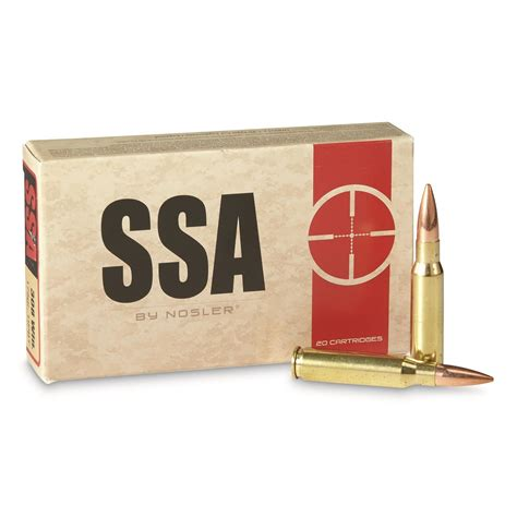 Ssa 308 Ammo Review And Hornady 35 Remington Ammo For Sale