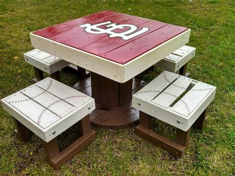 St Louis Cardinals Table Diy Kit