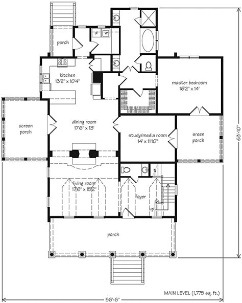 St Philips Place House Plan