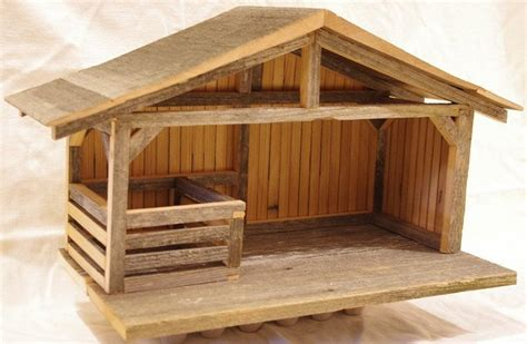 Stable Plans For Nativity Set