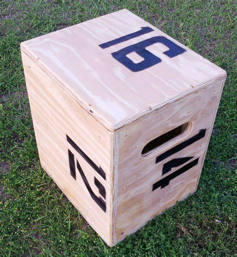 Stackable Plyo Box Diys