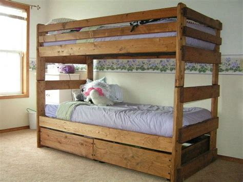Stackable Twin Bunk Bed Plans