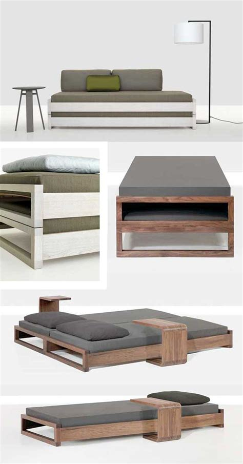 Stacking Diy Guest Bed