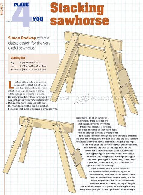 Stacking-Sawhorses-Plans