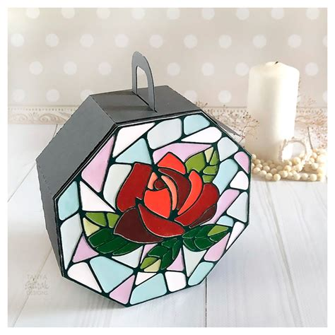 Stained Glass Box Diy Gift