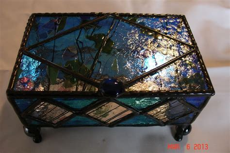 Stained Glass Jewelry Box Feet Hardware