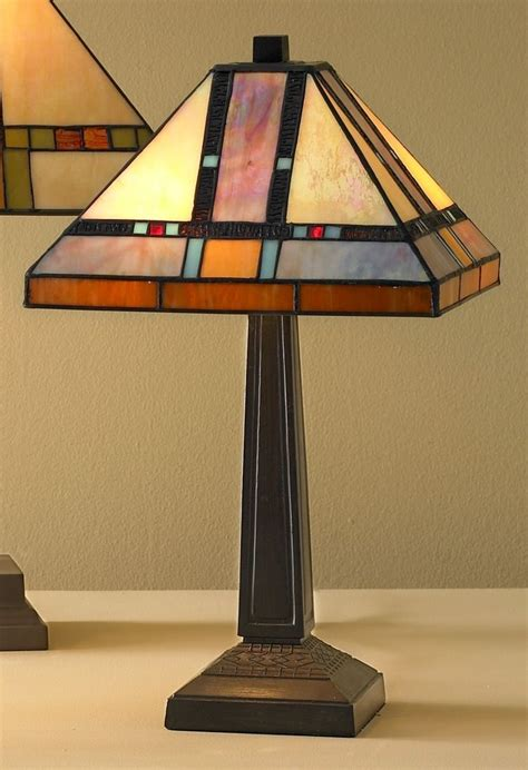 Stained Glass Mission Lamp Plans