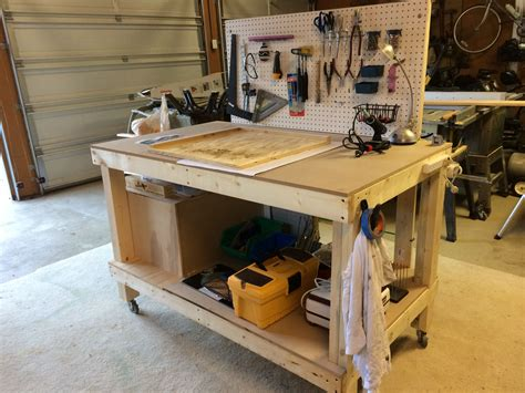 Stained Glass Workbench Plans