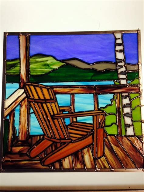 Stained-Glass-Adirondack-Chairs