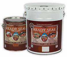Best Staining and sealing wood.aspx