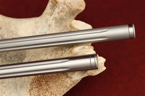 Stainless Fluted Barrel Rifle And Tc Rifle Barrel