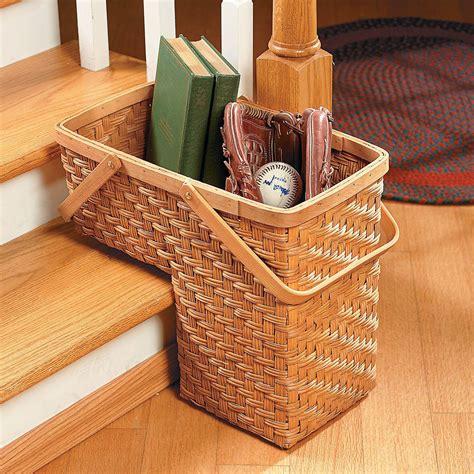 Stair-Basket-Organizer