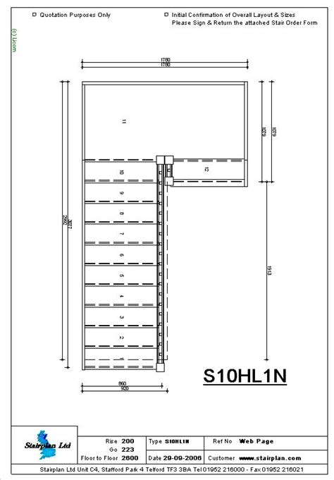 Stairway Plans And Drawings