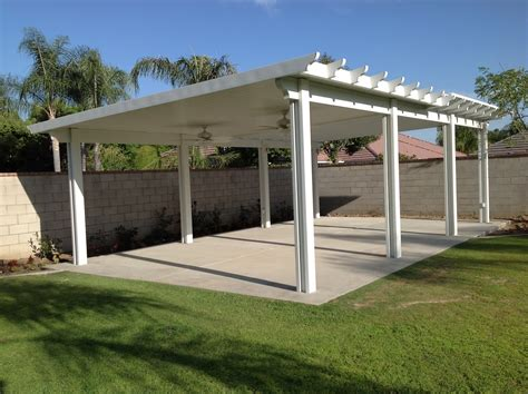Stand Alone Patio Cover Plans