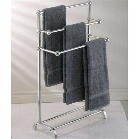 Stand Alone Towel Rack