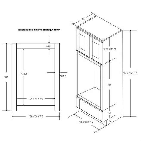 Standard Base Cabinet Height Oven Size
