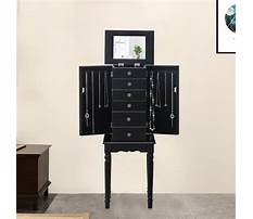 Best Standing jewelry cabinet plans