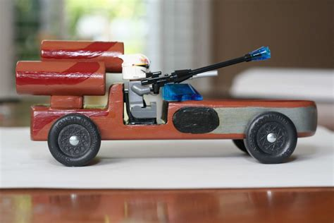 Star Wars Pinewood Derby Car Plans