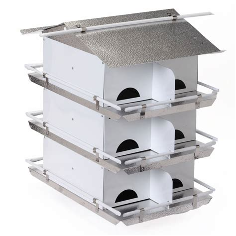 Starling-Resistant-Purple-Martin-House-Plans