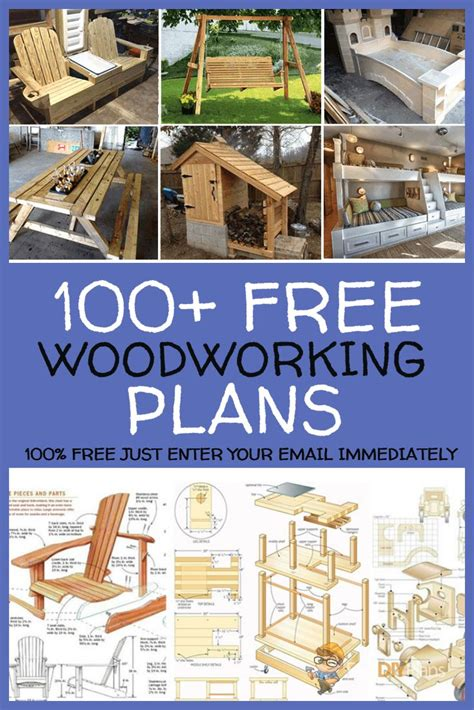 Start With Free Woodworking Plans
