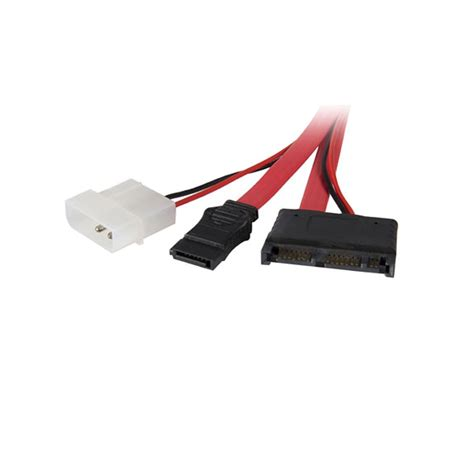 Startech.Com Micro Sata To Sata Adapter Cable With Power - 1 X Female Micro Sata - 1 X Female Sata 'Product Category: Hardware Connectivity/Connector Adapters'