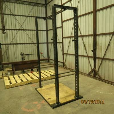 Starting Strength Squat Rack Plans