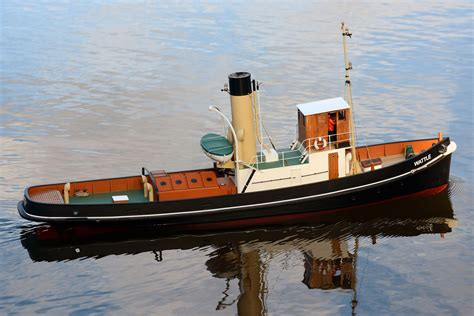 Steam Tugboat Plans
