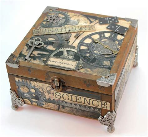 Steampunk Book Box Diy Ideas