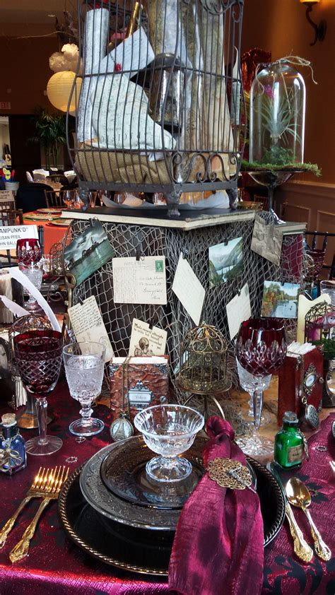 Steampunk Table Decor