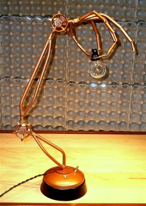 Steampunk Table Lamp DIY