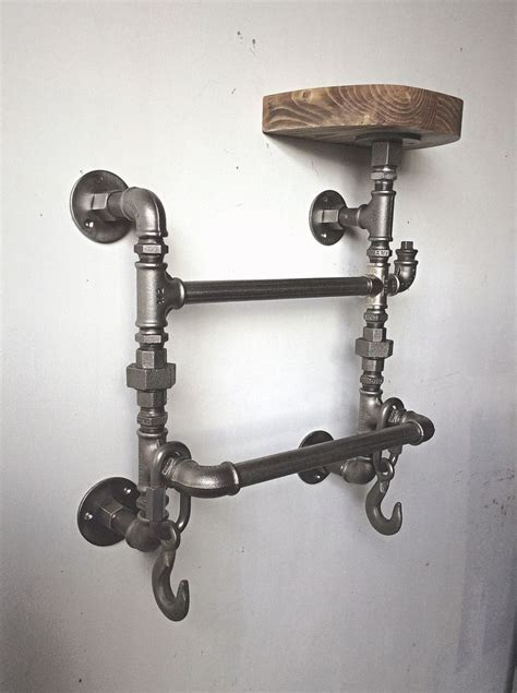 Steampunk Towel Rack Diy Halloween